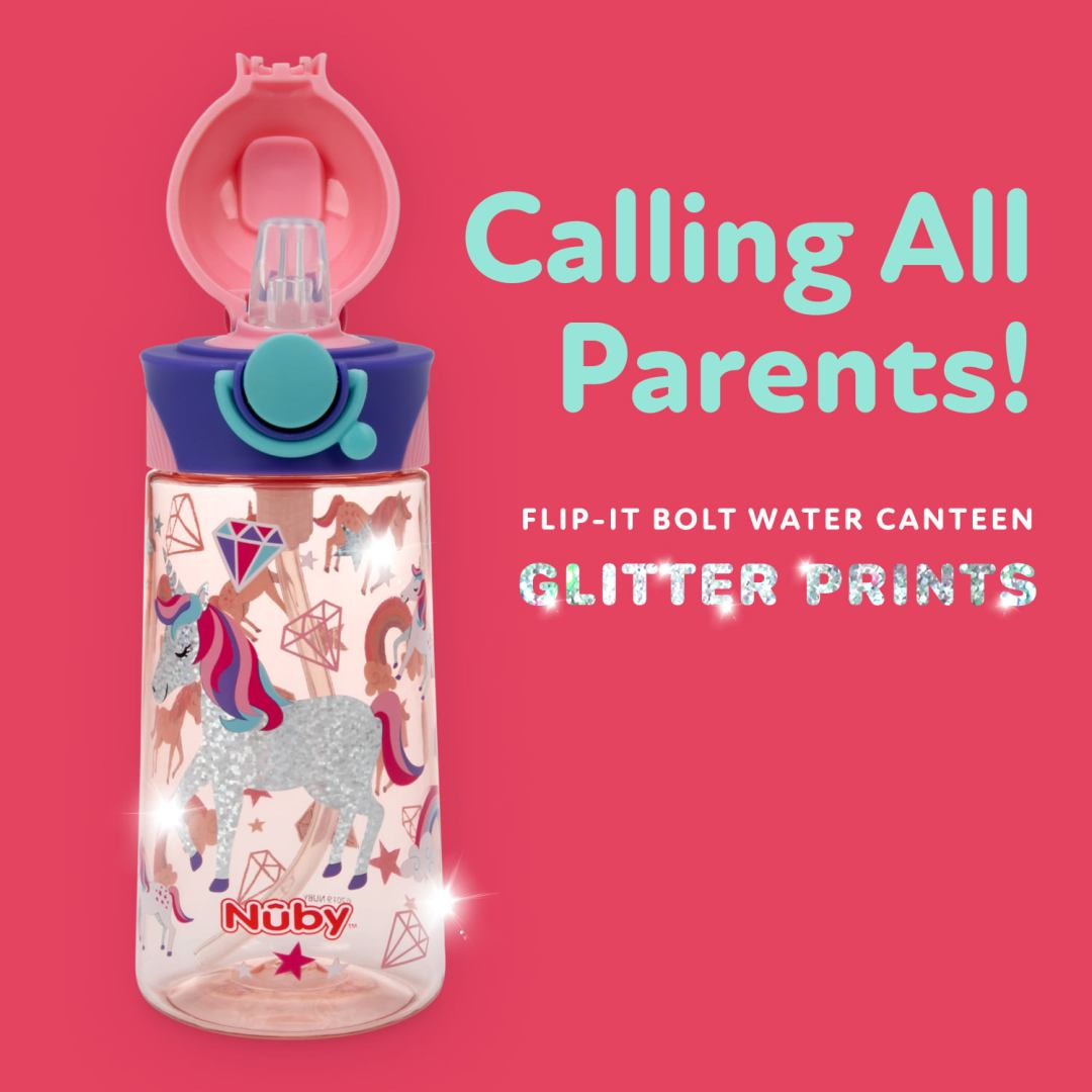free-unicorn-glitter-water-bottle