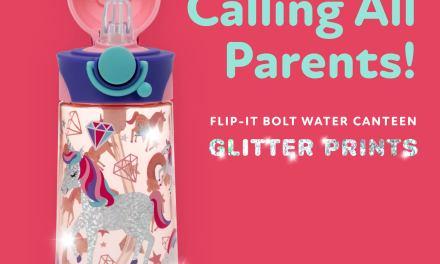 FREE Unicorn Glitter Water Bottle
