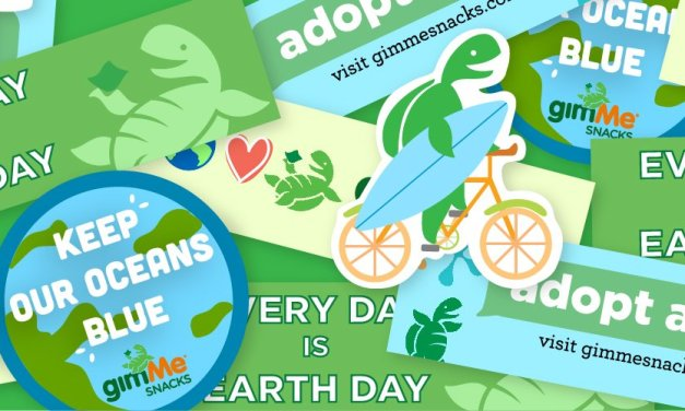 Free Earth Day Turtle Stickers