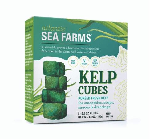 Free Kelp Cubes by Atlantic Sea Farms