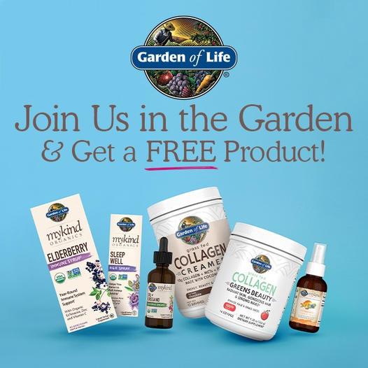 Free Full-Size Garden of Life Product