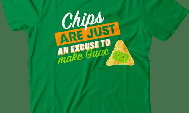 FREE Loving Guac Logo'd T-shirt