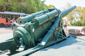 Battery Hearn on Corregidor Island