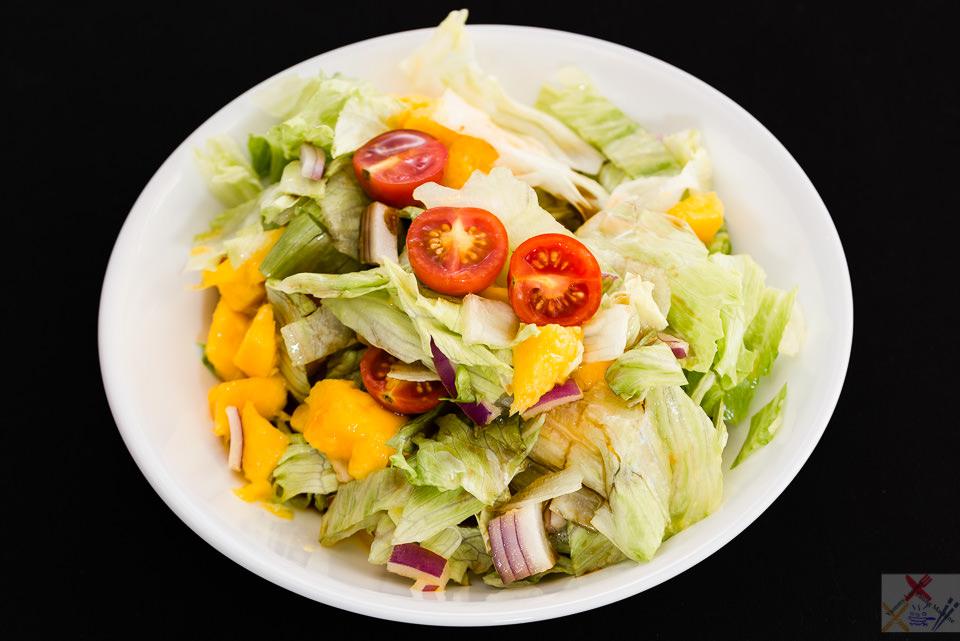 Kensington pride mango salad, Gary Lum