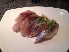 Saba (Mackerel) and Aji (Jack Mackerel)