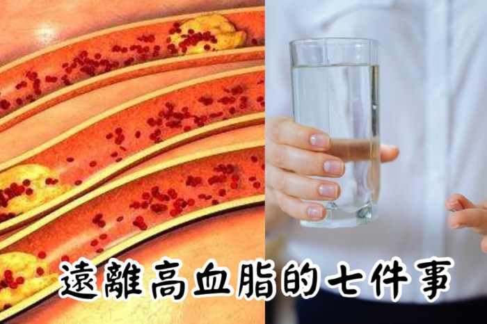 血脂過高嗎?日常生活注意七點,悄悄遠離高血脂!-台灣養生網