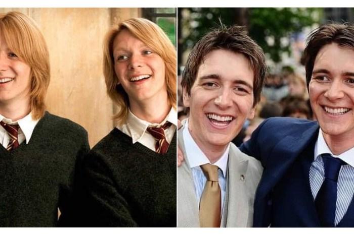 《哈利波特》不是只有衛斯理雙胞胎,其實你還忽略了「這 4 對雙胞胎」! – 我們用電影寫日記
