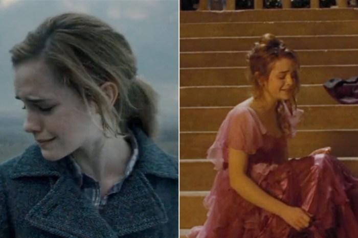 這就是愛情啊!盤點那些年妙麗為了榮恩「流的 5 次眼淚」,每一次都讓人傷心… —《哈利波特》—我們用電影寫日記