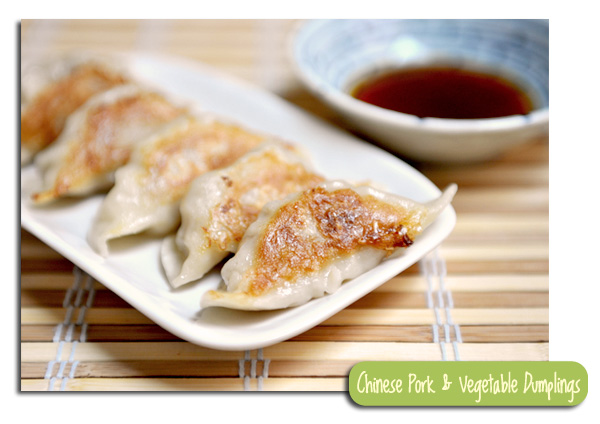Pork and Vegetable Dumplings - My Way
