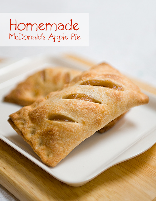 Homemade McDonald's Apple Pie