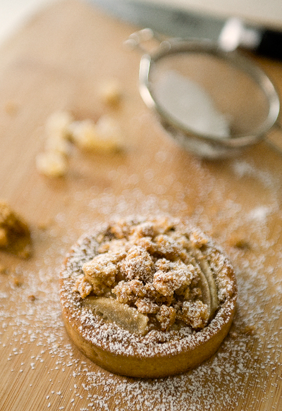 Pear Tart with Streusel