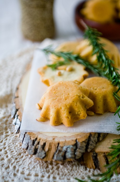 Rosemary Pine Nut Gâteaux Breton