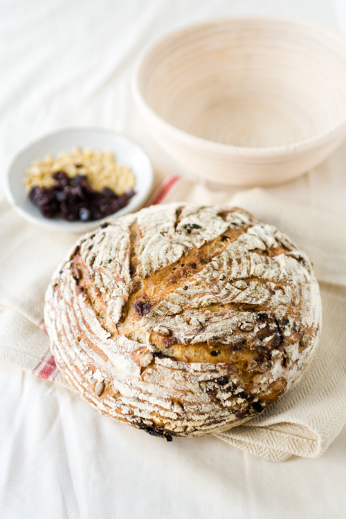 Pine Nut Cherry Harvest Bread