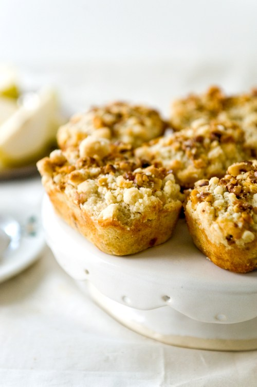 Caramel Pear Walnuts Loaves