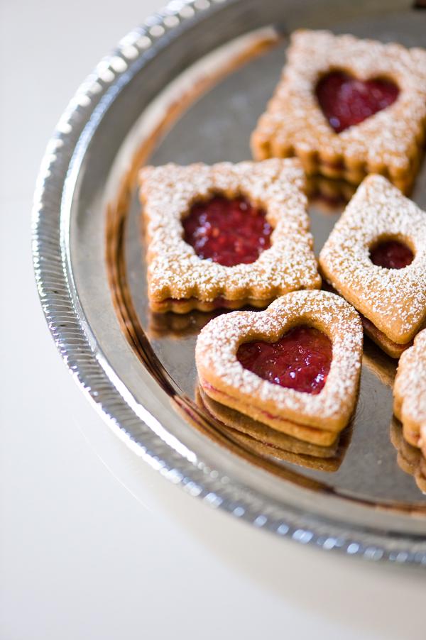 Kinako Linzer Cookies