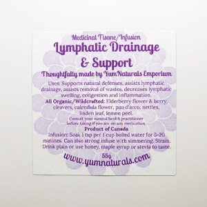 Yum Naturals Emporium - Bringing the Wisdom of Nature to Life - Lymphatic Drainage and Support Tisane