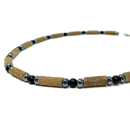 YumNaturals Emporium - Bringing the Wisdom of Mother Nature to Life - Hazelwood Black Hematite Necklace 2