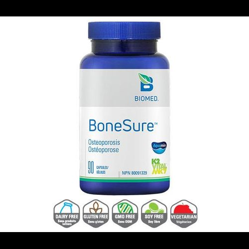 YumNaturals Emporium - Bringing the Wisdom of Nature to Life - BoneSure Biomed 90 Capsules