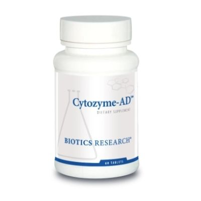 YumNaturals Emporium - Bringing the Wisdom of Mother Nature to Life - Biotics Research Cytozyme-AD