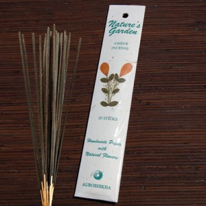 YumNaturals Emporium - Bringing the Wisdom of Nature to Life - Nature's Expression Incense Amber