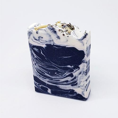 YumNaturals Emporium - Bringing the Wisdom of Nature to Life - Lavender Indigo Swirl Small