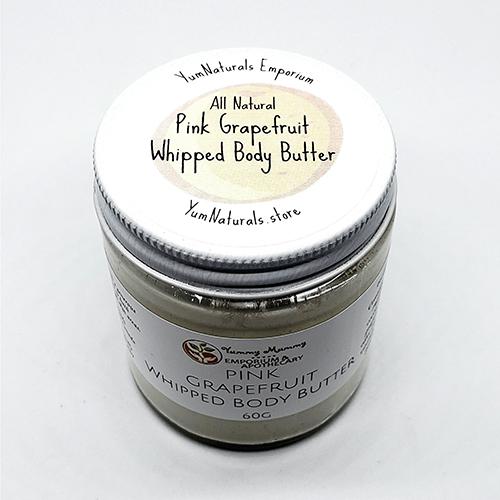 Yum Naturals Emporium - Bringing the Wisdom of Nature to Life - Pink Grapefruit Body Butter 2