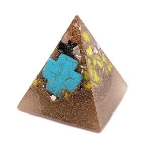 YumNaturals Emporium - Bringing the Wisdom of Nature to Life - Palm Pyramid Orgonite Generator 1