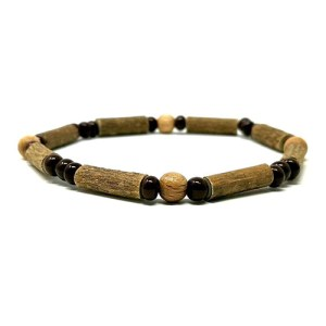 YumNaturals Emporium - Bringing the Wisdom of Mother Nature to Life - Hazelwood Natural Brown Single Bracelet 1