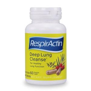 Yum Naturals Emporium - Bringing the Wisdom of Nature to Life - SunForce RespirActin Deep Lung Cleanse