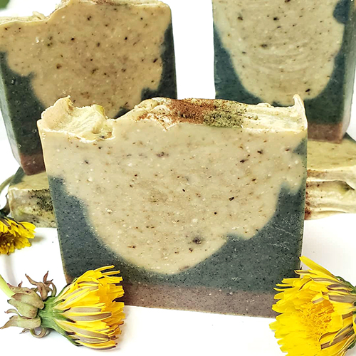 YumNaturals Bringing the Wisdom of Nature to Life - All Dandelion Medical Soap 1