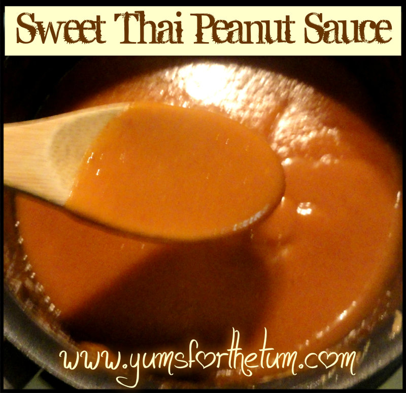 Sweet Thai Peanut Sauce