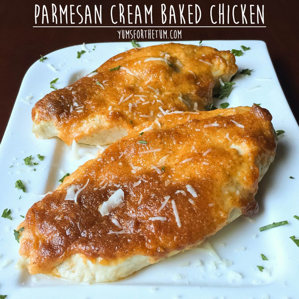 Parmesan Cream Baked Chicken
