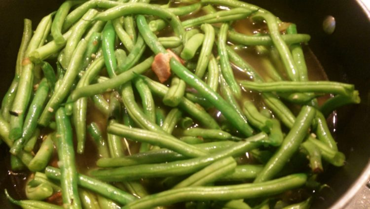 Gluten Free- Paleo- Old Fashioned Summer Green Beans