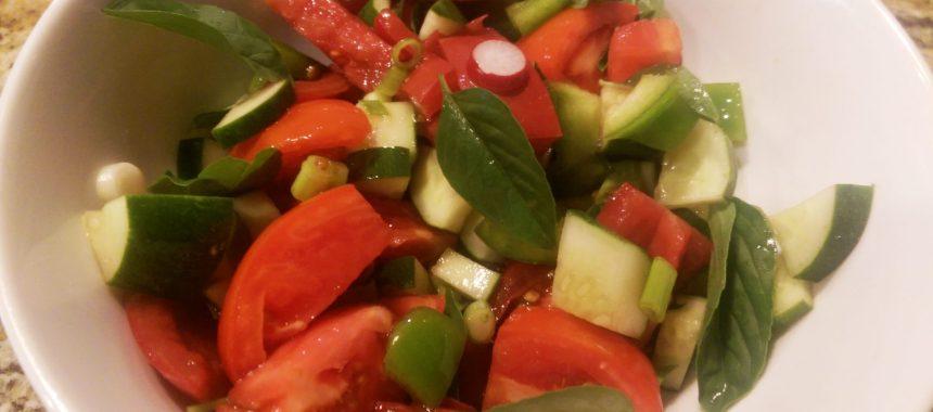 Panzanella  Salad (Bread Salad) Recipe