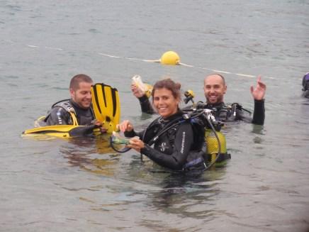 Baustismo submarinismo Tossa de Mar