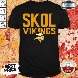 Annoyed 9 Skol Vikings Minnesota Vikings Logo Shirt