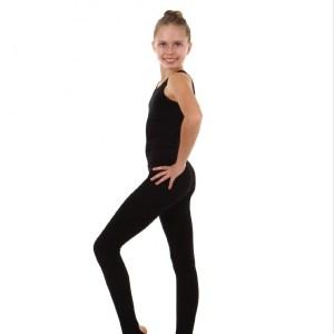 Лосины для художественной гимнастики с пяткой