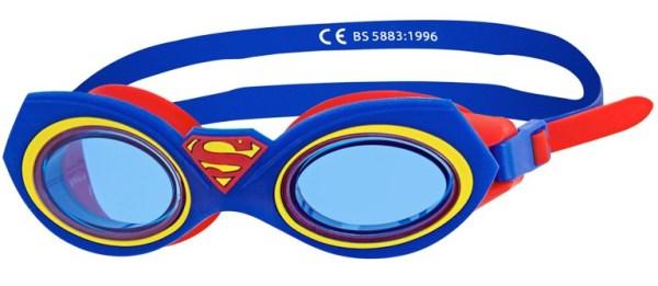 Очки Супермен ZOGGS Superman Character  для плавания детские (6-14 лет)