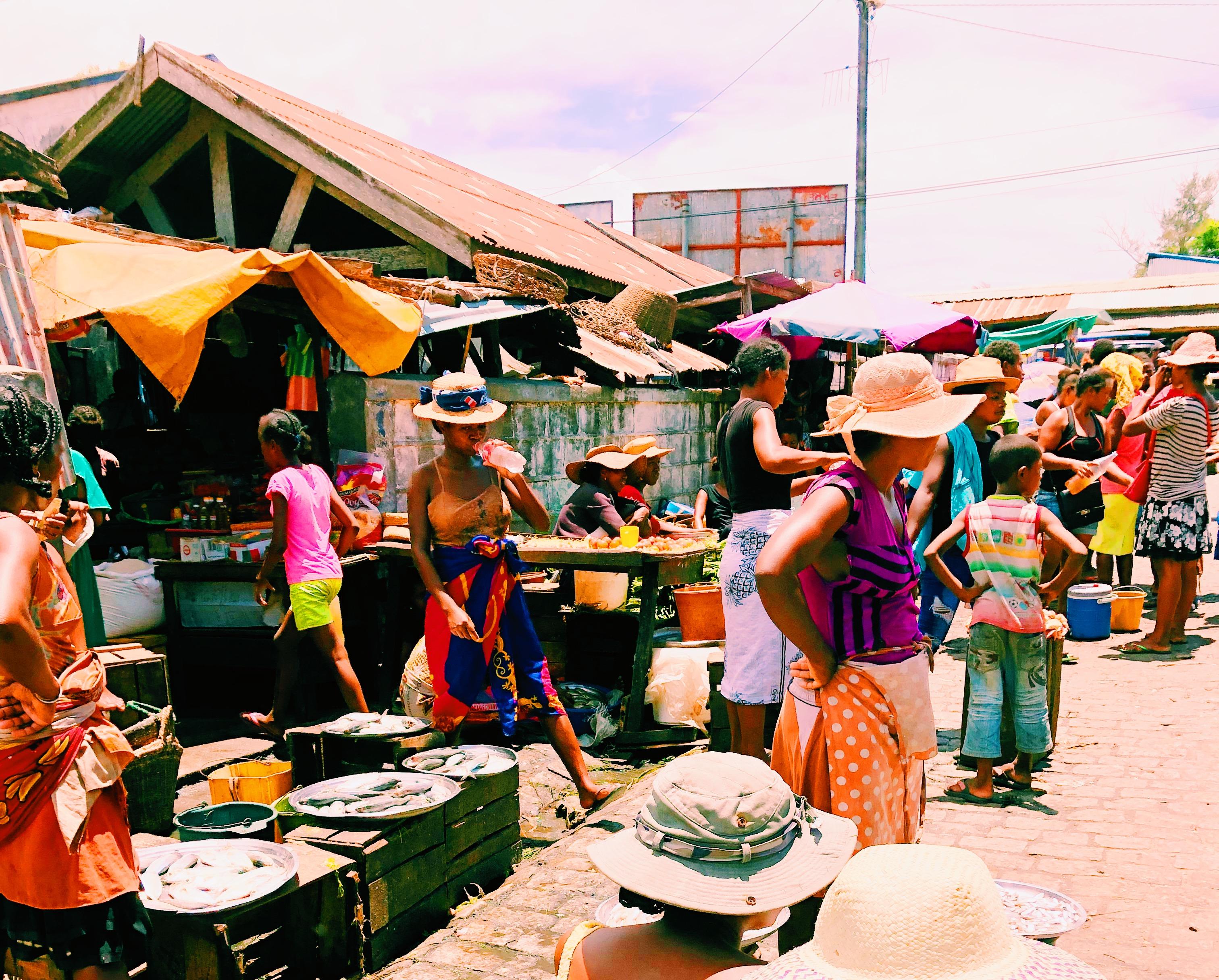 マダガスカルローカルマーケット