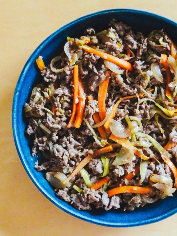 Bulgogi, viande marinée et grillée coréenne