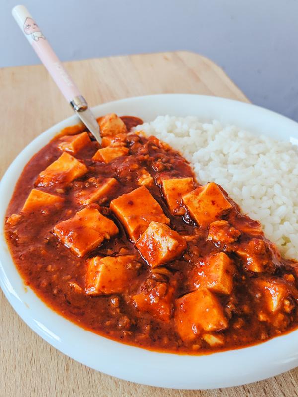 Mapadubu, plat chinois épicé au tofu