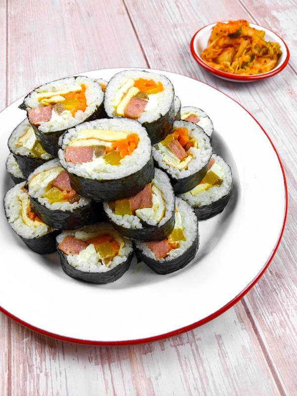 Kimbap, les sushis coréens
