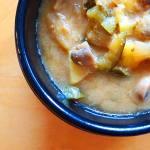 Recette de soupe coréenne, le doenjangjjigae
