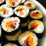 Recette de kimbap, les sushis coréens