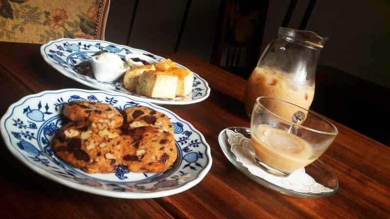 Afternoon Tea au café Tiangpang