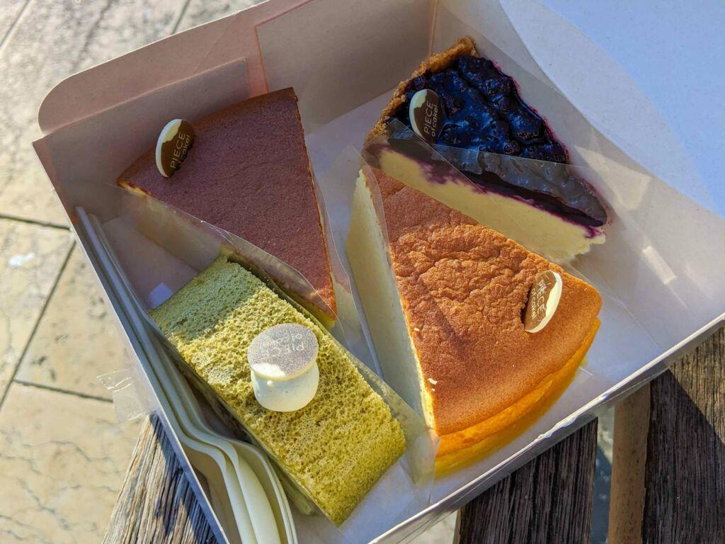 Patisserie cheesecake de piece of cake