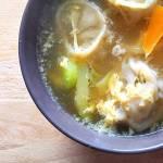 Manduguk, soupe de raviolis coréennes