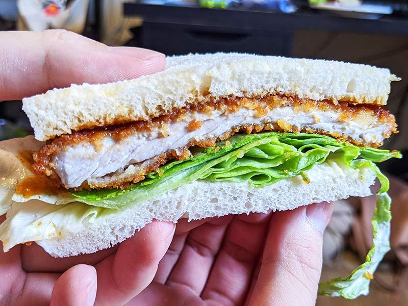 Katsu Sando, sandwich de tonkatsu