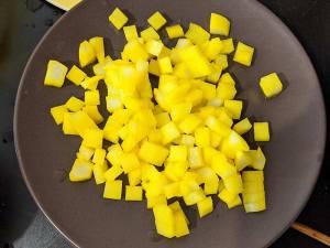 Recette albap étape 3 couper le radis