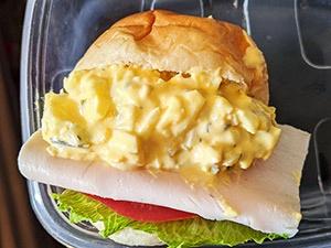 egg sandwich etape 11